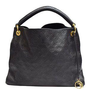 Louis Vuitton Artsy Empreinte Leather Handbag